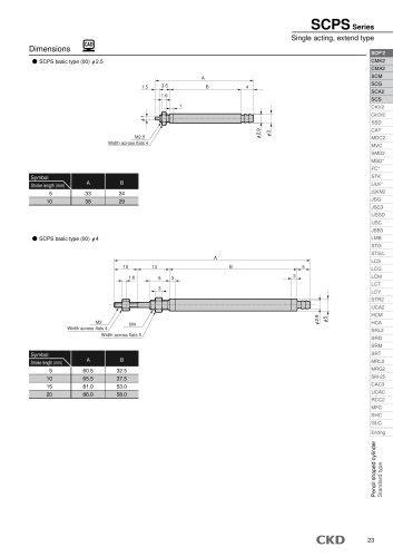 Rodless cylinder SRL3 - CKD - PDF Catalogs   Technical