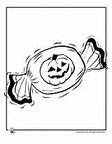 Candy Coloring Halloween Pages Pa Printer Popular Send Button Special Books Coloringhome sketch template
