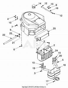 Troy Bilt 13at609g766 Super Bronco  2005  Parts Diagram For Engine Accessories