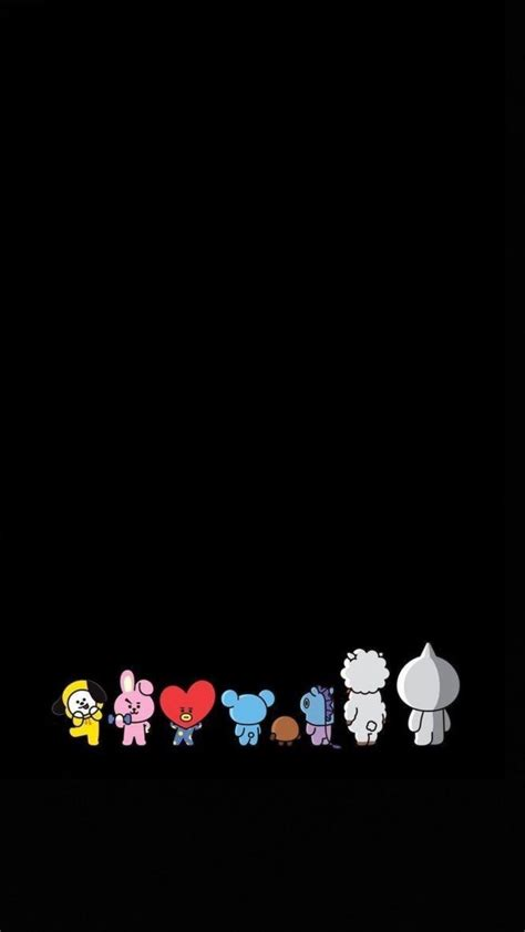 aesthetic bt21 wallpapers