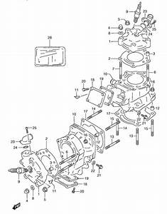 Cylinder For 1992 Rgv250n E24  N