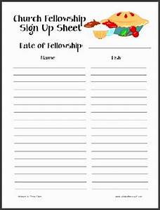 Free Printable Potluck Sign Up Sheet 10 Make Free Sign Up Sheet In Word Sampletemplatess