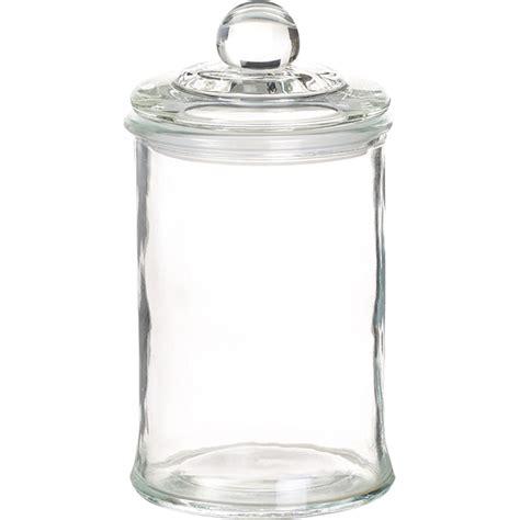 grossiste pot en verre petit bocal en verre avec couvercle en verre