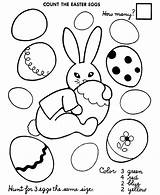 Easter Coloring Egg Number Pages Eggs Printable Sheet Sheets Numbers Count Activities Printables Colour Activity Autism Worksheets Preschool Colouring Colors sketch template
