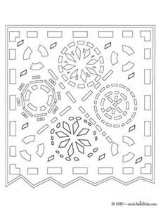 Printable Papel Picado Templates Day of the Dead