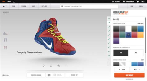 design your own shoe customize lebron 12 id shoeshotel