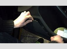 Audi A4S4 B8 Avant Door Speaker Trim Removal With Bojo