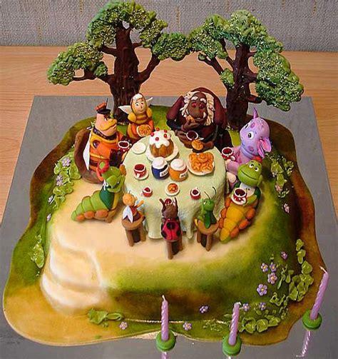 sweet cake decoration  marzipan fruits flowers