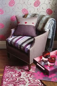 deco rose la chambre a coucher voit la vie en rose With tapis chambre bébé avec parfum fleuri frais