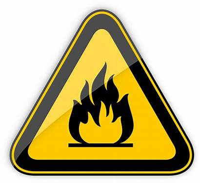 Flammable Warning Sign Clipart Highly Signs Clipartpng