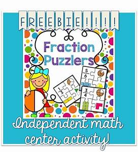 Freebie  Free Independent Math Center Activity For Kiddos To Identify Fractions