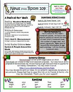 1000 ideas about weekly newsletter template on pinterest With weekly bulletin template