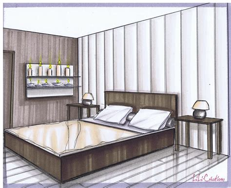 chambre en perspective awesome chambre moderne en perspective images design trends 2017 shopmakers us
