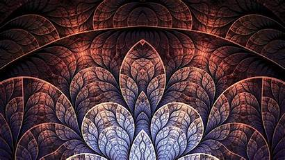 Pattern Brown Background Patterns Leaf Abstract Android
