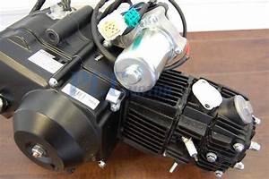 125cc Semi Auto Engine Motor W   Reverse Atv Quad Go Kart 3 1 125r