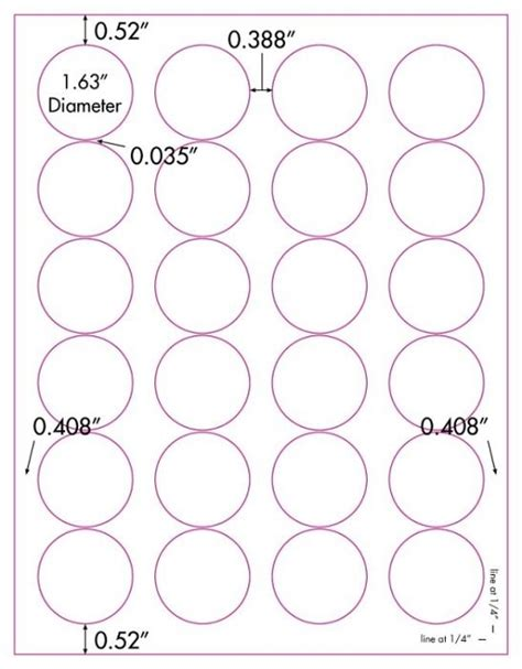 avery 5293 template 480 vinyl weatherproof waterproof white laser only labels 1 5 8 diameter avery 174 5293