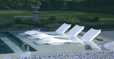ledge lounger modern tub and pool supplies