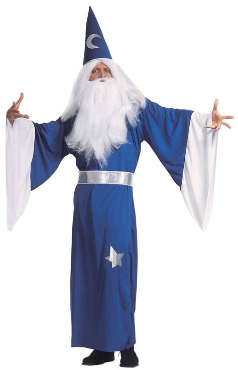 blue magician costume for men