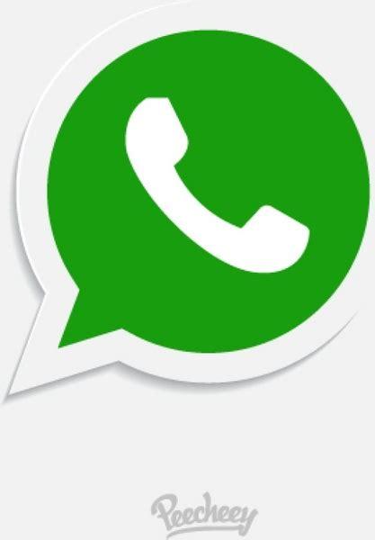 whatsapp icon free vector in adobe illustrator ai ai vector illustration graphic design