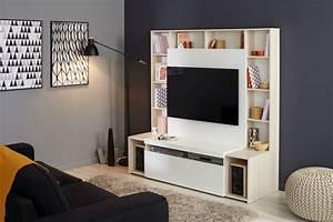 Meuble De Télé Conforama : acheter un meuble t l comment bien le choisir c t maison ~ Teatrodelosmanantiales.com Idées de Décoration
