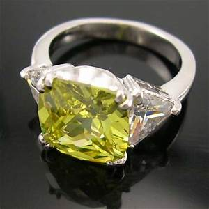 online selection diamond cz engagement wedding ring With lime green wedding rings