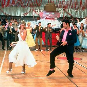 Grease - probably my favourite part of the movie, again ...