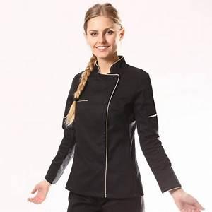 Tenue De Cuisine Femme : veste de cuisine femme manche courte longue pas cher ~ Teatrodelosmanantiales.com Idées de Décoration