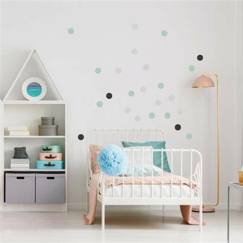 Wandtattoo Kinderzimmer Mint by Wandgestaltung Im Kinderzimmer Mit Wandtattoo Konfetti