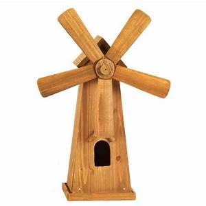 Moulin Deco Jardin : moulin vent en bois 42x17cm provence outillage ~ Teatrodelosmanantiales.com Idées de Décoration