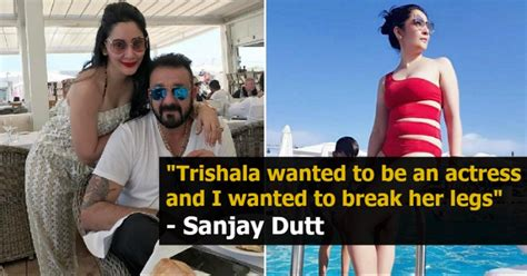 Sanjay Dutt Unhappy With Wife Manyata Dutts Habit Of Sharing Bold Pictures On Social Media