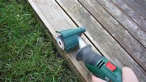 Holzterrasse len anleitung tipps vom tischler for Terrasse abschleifen