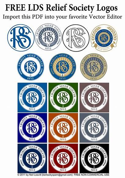 Relief Society Lds Logos Clipart Church Seals