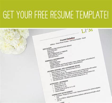 free social resume formats sororities