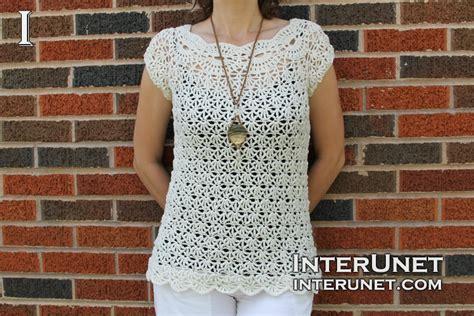 White jasmine top crochet pattern | interunet