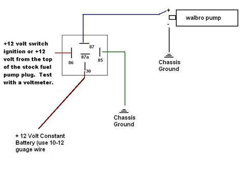 Bosch Fuel Pump Wiring Honda Tech