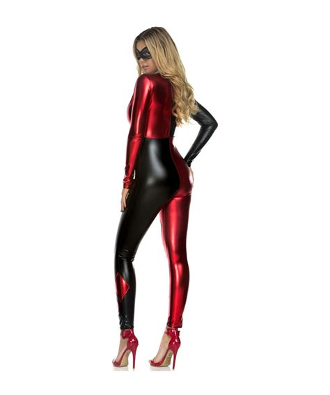 harley quinn jumpsuit costume harley quinn catsuit womens costume costumes