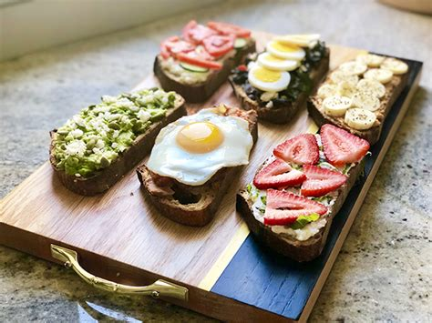Beautiful Breakfast Recipes by Beautiful Breakfast Toasts American Institute For Cancer