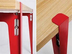 Pieds De Table : pieds de table ligne roset t u pour cr er une table ~ Teatrodelosmanantiales.com Idées de Décoration