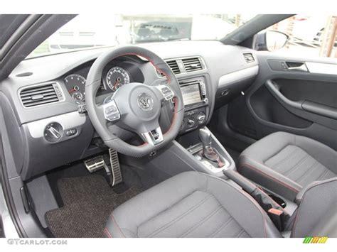 Titan Black Interior 2013 Volkswagen Jetta Gli Photo