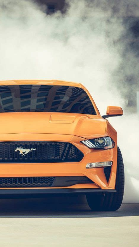 Ford Mustang Wallpaper Iphone X by Ford Mustang Gt Convertible Burnout Iphone Wallpaper