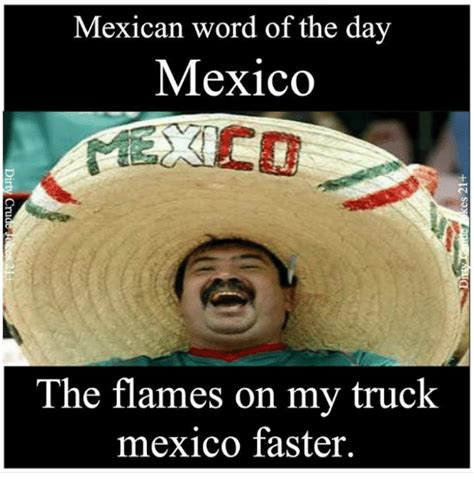 Mexican Word Of The Day Memes - 25 best memes about word of the day word of the day memes