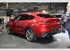 2019 BMW X4 Looks AllNew in Geneva, But Is It Hotter Than