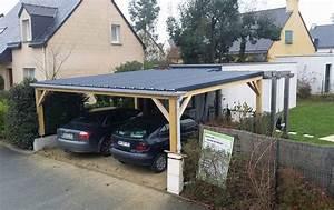 Carport Bois Rennes Abris Voiture Garage Pose Création Réalisation Fabrication Charpentier