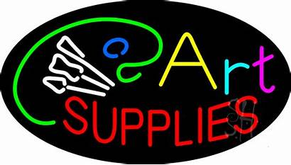 Sign Neon Supplies Signs Flashing