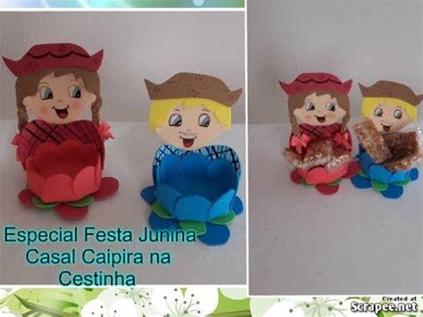 como fazer cestinha festa junina em youtube