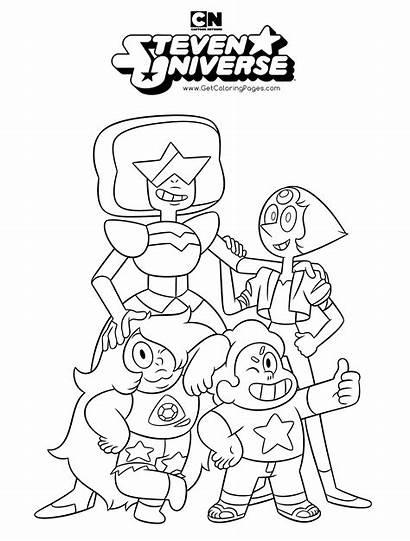 Coloring Universe Steven Cartoon Network Sheet Colouring
