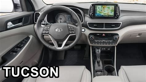 hyundai tucson interior youtube