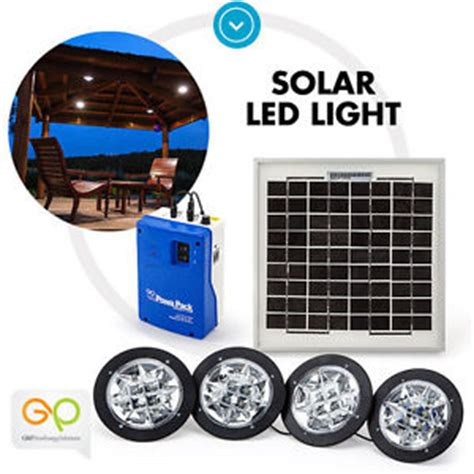 g p solar powered led light kit cing caravan tent c