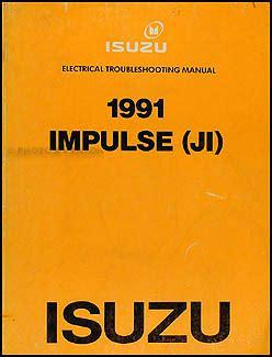 1991 isuzu impulse original electrical troubleshooting