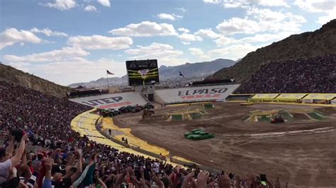 monster truck show in el paso tx el paso texas 2017 monster truck show youtube